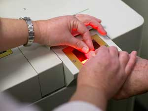 Live Scan Fingerprints